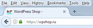 Фавикон на вкладке сайта