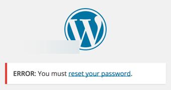 Смена пароля в форме входа