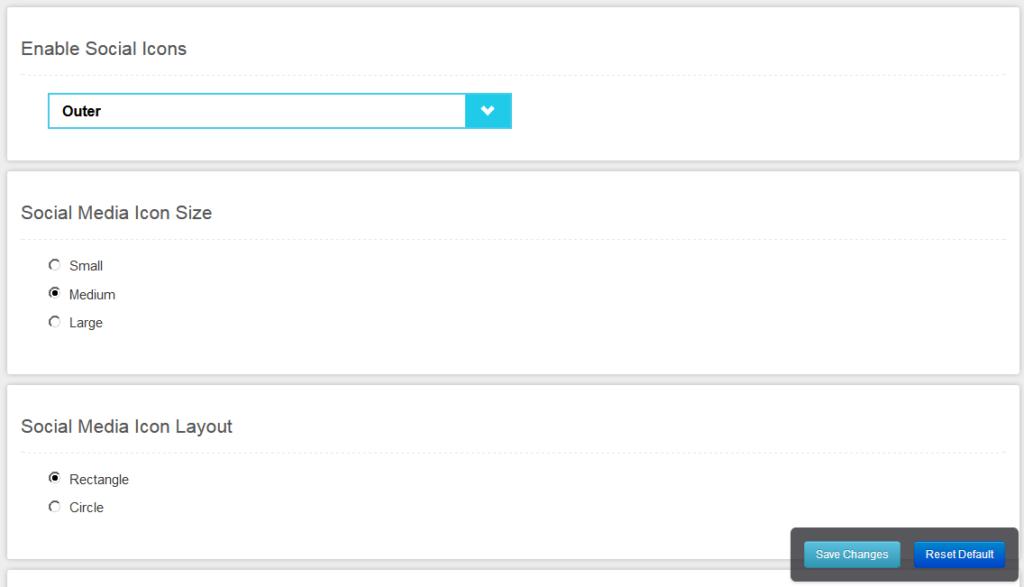 Настройка социальных кнопок на странице входа в плагине Customize WordPress Login Page