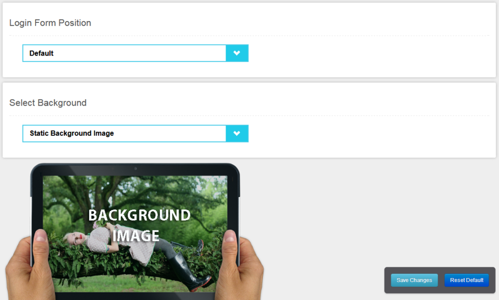 Настройка формы на странице входа в плагине Customize WordPress Login Page