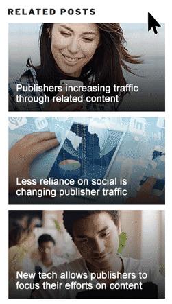 Плагин Related Posts for WordPress by Bibblio