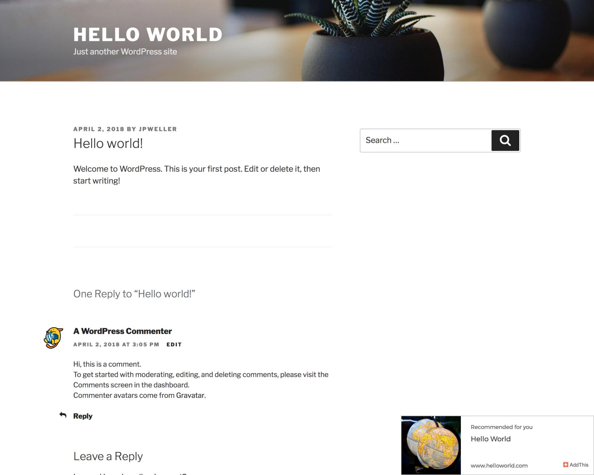 Плагин WordPress Related Posts Plugin - AddThis