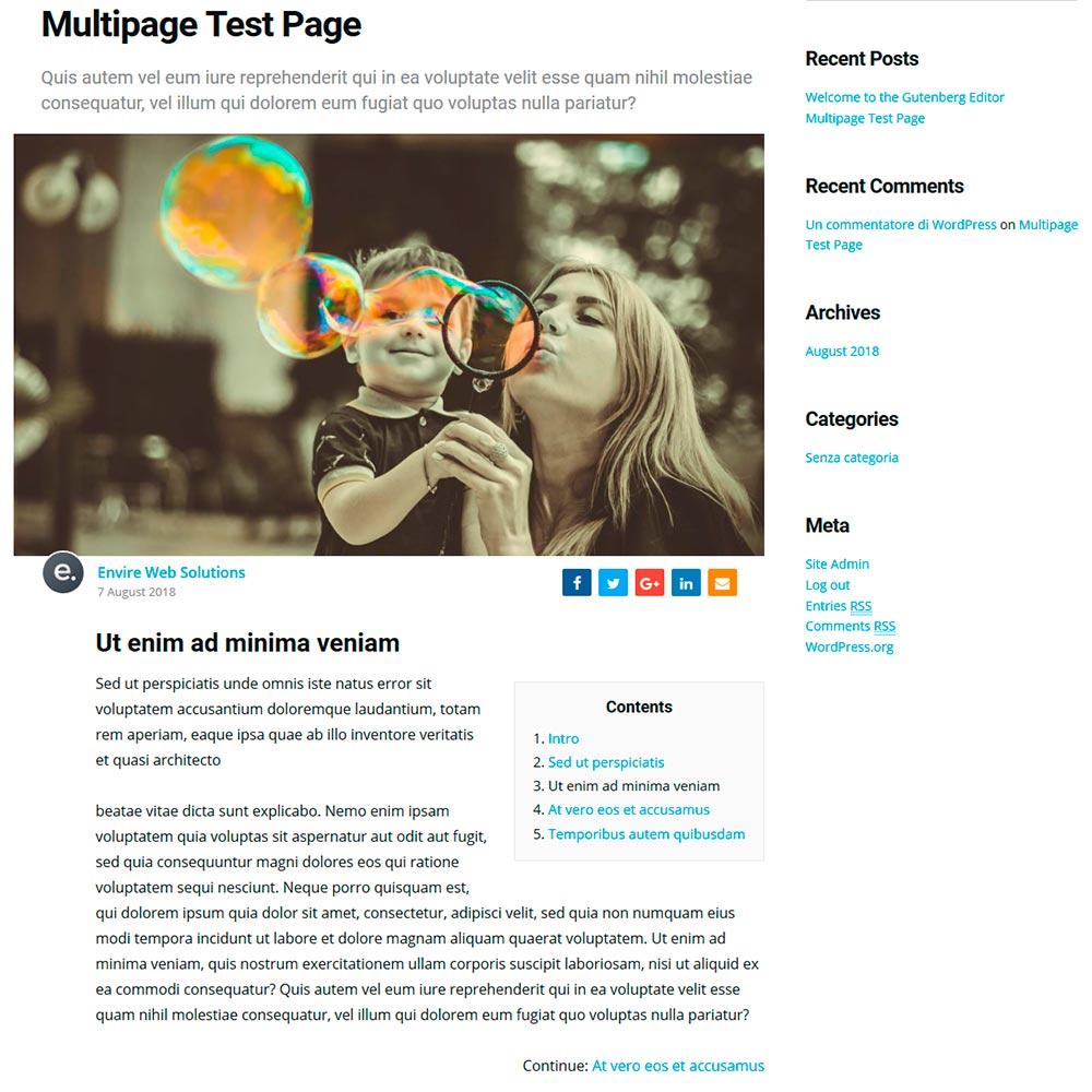 Плагин Multipage