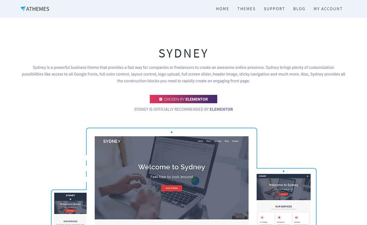 Тема Sydney