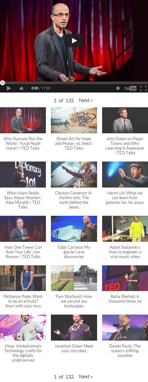 Вывод видео в YouTube Embed Plus