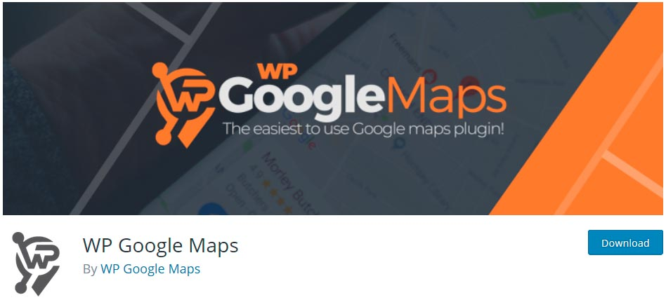 Оф. страница плагина WP Google Maps