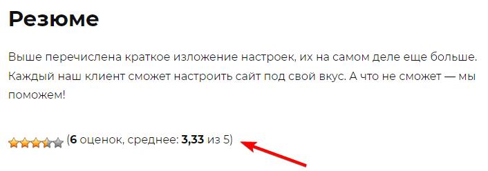 Рейтинг на сайте с помощью WP-PostRatings